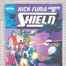 Cómics: NICK FURIA. AGENTE DE SHIELD Nº 2. COMICS FORUM 1990. Lote 229861475