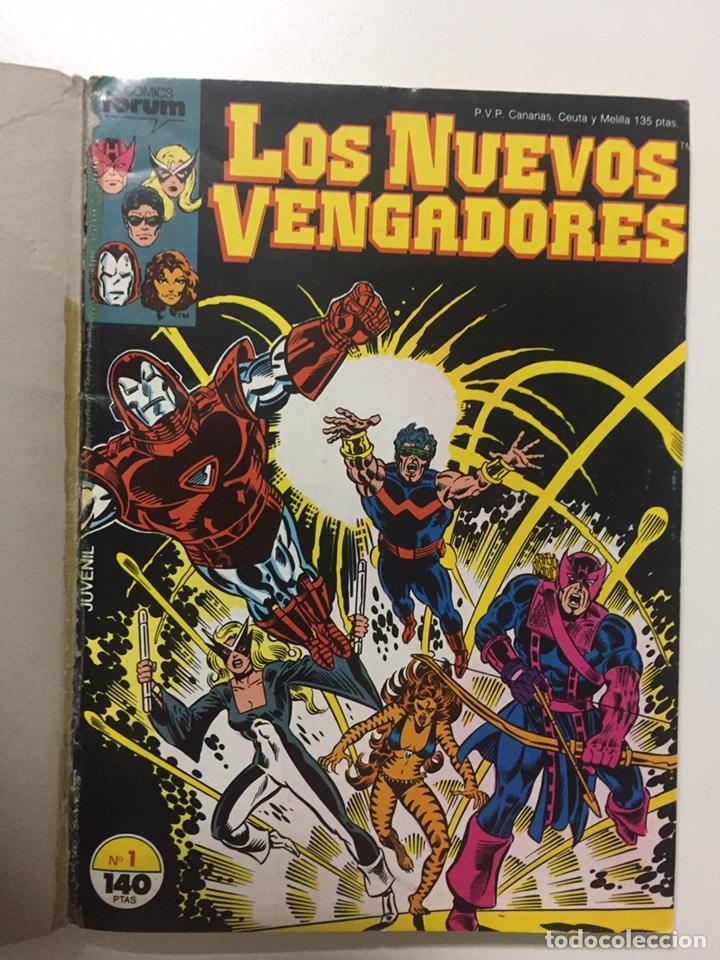 Cómics: NUEVOS VENGADORES 1 al 5 VOL.1 FORUM RETAPADO - Foto 2 - 229863815