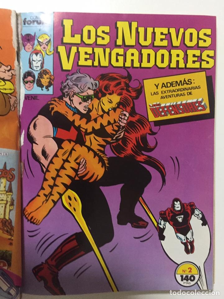 Cómics: NUEVOS VENGADORES 1 al 5 VOL.1 FORUM RETAPADO - Foto 3 - 229863815