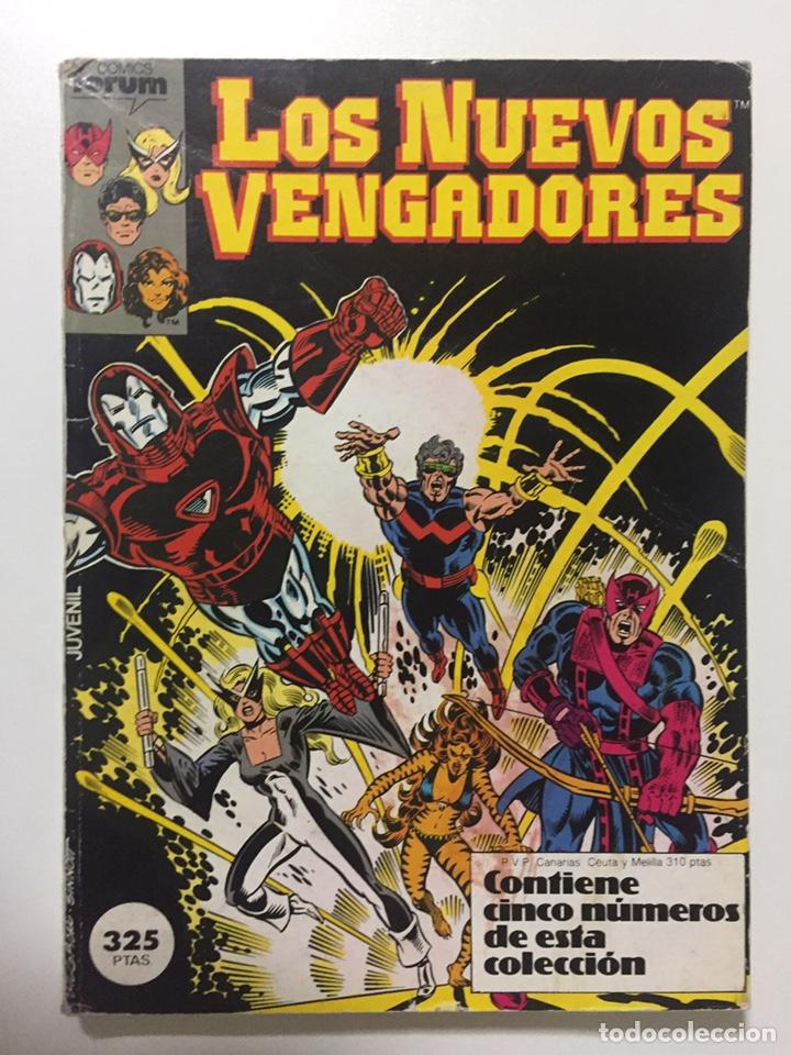 NUEVOS VENGADORES 1 AL 5 VOL.1 FORUM RETAPADO (Tebeos y Comics - Forum - Vengadores)