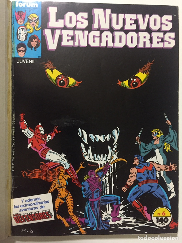 Cómics: NUEVOS VENGADORES 6 al 10 VOL.1 FORUM RETAPADO - Foto 2 - 229864475