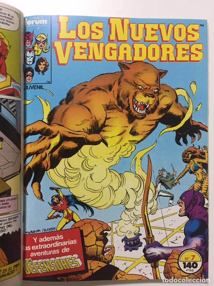 Cómics: NUEVOS VENGADORES 6 al 10 VOL.1 FORUM RETAPADO - Foto 3 - 229864475