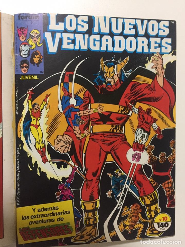 Cómics: NUEVOS VENGADORES 6 al 10 VOL.1 FORUM RETAPADO - Foto 6 - 229864475