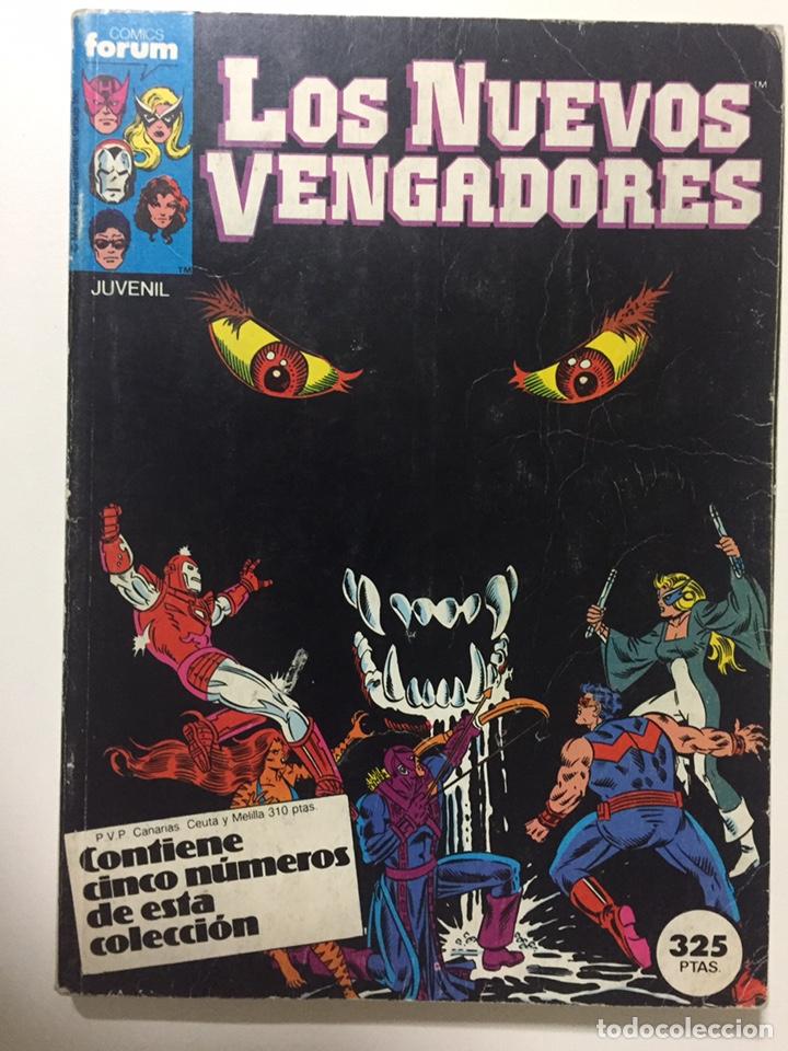 NUEVOS VENGADORES 6 AL 10 VOL.1 FORUM RETAPADO (Tebeos y Comics - Forum - Vengadores)
