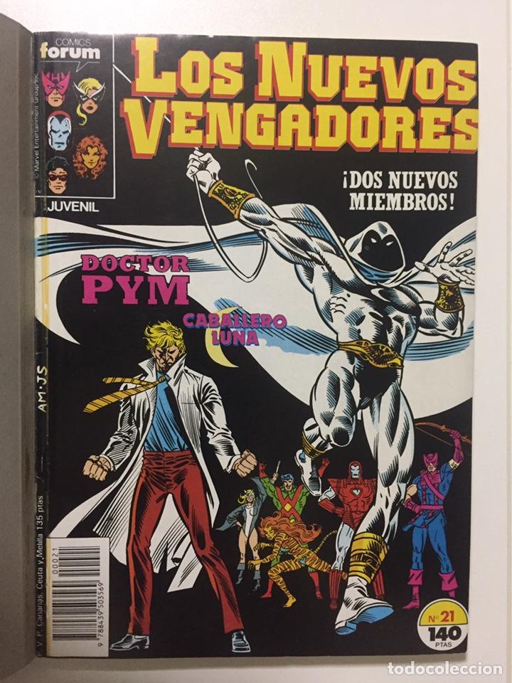 Cómics: NUEVOS VENGADORES 21 al 25 VOL.1 FORUM RETAPADO - Foto 2 - 229865880