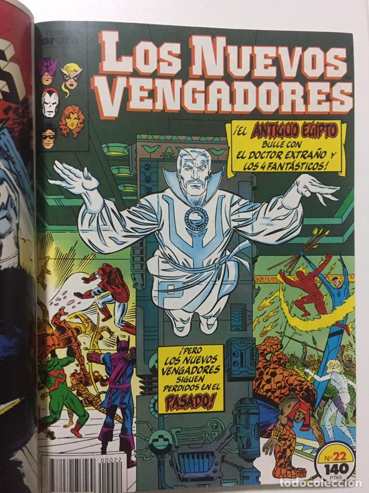 Cómics: NUEVOS VENGADORES 21 al 25 VOL.1 FORUM RETAPADO - Foto 3 - 229865880