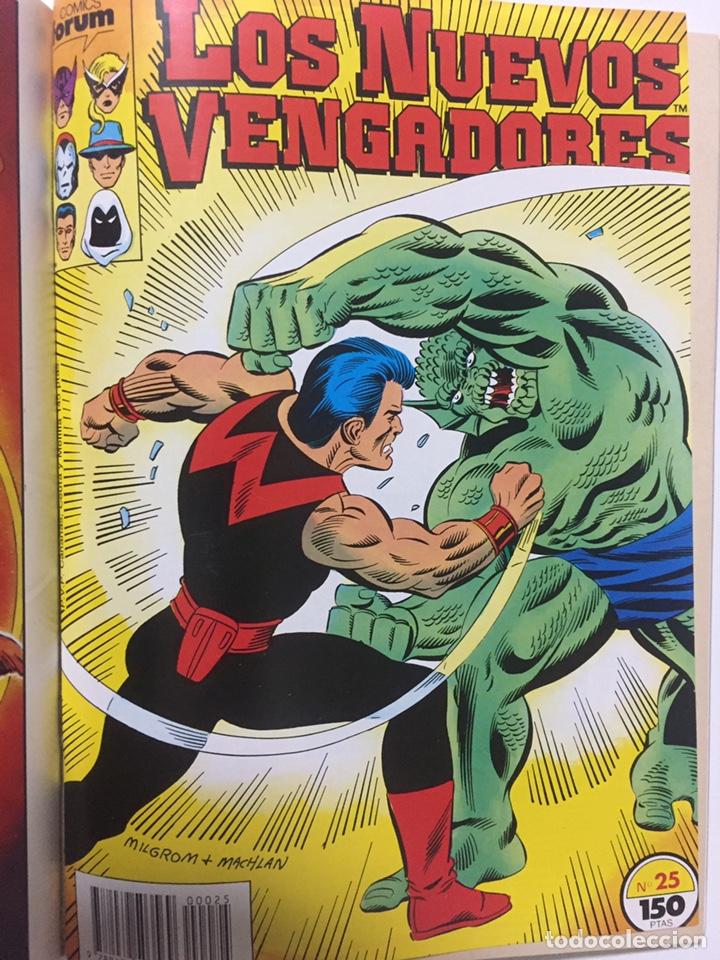Cómics: NUEVOS VENGADORES 21 al 25 VOL.1 FORUM RETAPADO - Foto 6 - 229865880