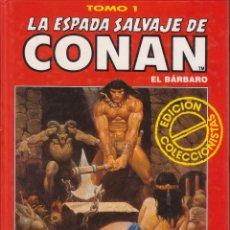 Cómics: CÓMIC TOMO 1 LA ESPADA SALVAJE DE CONAN ED. COLECCCIONISTAS FORUM 192 PGS. TAPA DURA. Lote 230100355