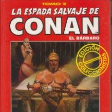 Cómics: CÓMIC TOMO 2 LA ESPADA SALVAJE DE CONAN ED. COLECCCIONISTAS FORUM 192 PGS. TAPA DURA. Lote 230100480