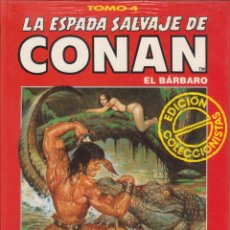 Cómics: CÓMIC TOMO 4 LA ESPADA SALVAJE DE CONAN ED. COLECCCIONISTAS FORUM 192 PGS. TAPA DURA. Lote 230100715