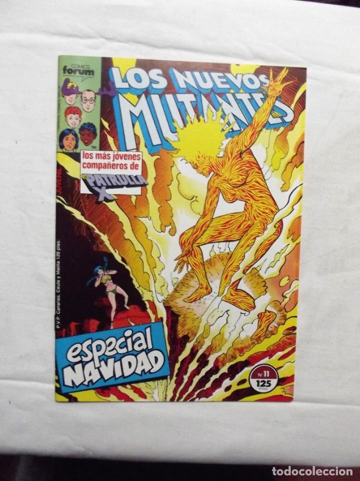 LOS NUEVOS MUTANTES Nº 11 COMICS FORUM (Tebeos y Comics - Forum - Nuevos Mutantes)
