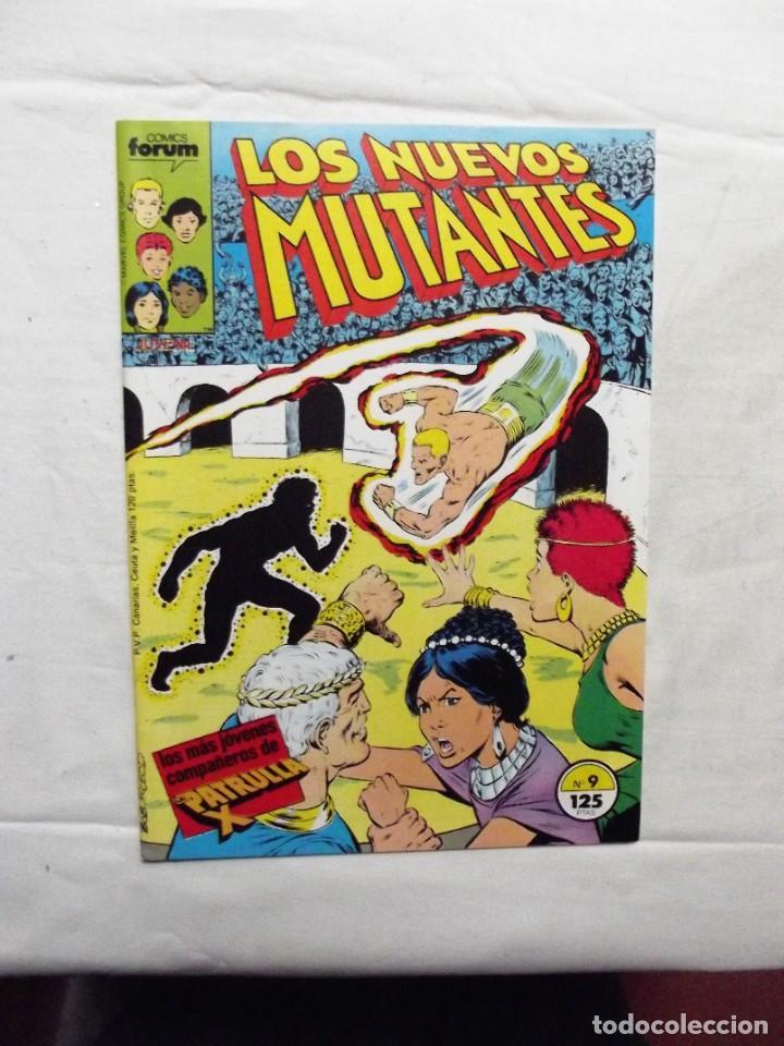 LOS NUEVOS MUTANTES Nº 9 COMICS FORUM (Tebeos y Comics - Forum - Nuevos Mutantes)