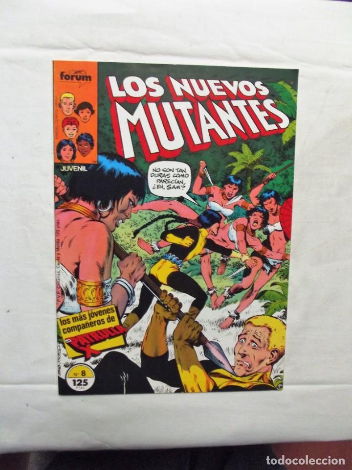 LOS NUEVOS MUTANTES Nº 8 COMICS FORUM (Tebeos y Comics - Forum - Nuevos Mutantes)