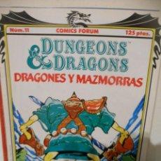 Fumetti: DRAGONES Y MAZMORRAS Nº 11. Lote 230300005