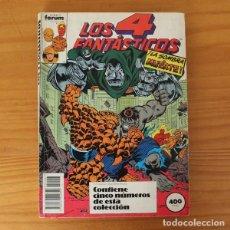 Comics : LOS 4 FANTASTICOS 5 NUMEROS 86,87,88,89,90 FORUM MARVEL RICH BUCKLER.. Lote 230386080