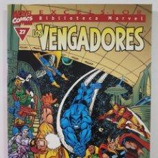 Cómics: BIBLIOTECA MARVEL VENGADORES 27 - TOMO MARVEL FORUM. Lote 230633640