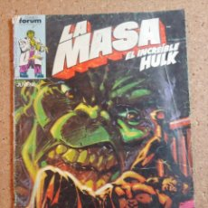 Cómics: COMIC DE LA MASA EL INCREIBLE HULK COMIC FORUM Nº 31. Lote 230717055