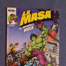 Comics: LA MASA EL INCREIBLE HULK VOL 1 # 3 (FORUM) - 1983. Lote 230749450