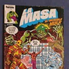 Comics: LA MASA EL INCREIBLE HULK VOL 1 # 15 (FORUM) - 1983. Lote 230793520
