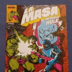 Comics: LA MASA EL INCREIBLE HULK VOL 1 # 23 (FORUM) - 1984. Lote 230807775