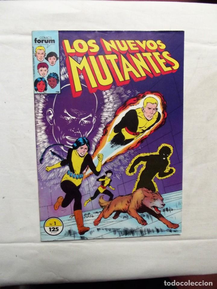 LOS NUEVOS MUTANTES Nº 1 COMICS FORUM (Tebeos y Comics - Forum - Nuevos Mutantes)