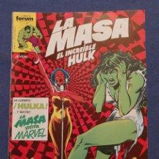 Comics: LA MASA EL INCREIBLE HULK VOL 1 # 28 (FORUM) - 1984. Lote 230950830