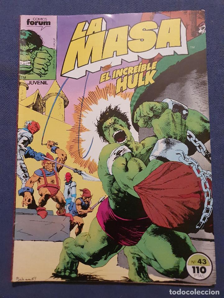 LA MASA EL INCREIBLE HULK VOL 1 # 43 (FORUM) - 1985 (Tebeos y Comics - Forum - Hulk)