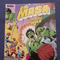 Cómics: LA MASA EL INCREIBLE HULK VOL 1 # 43 (FORUM) - 1985. Lote 230951570