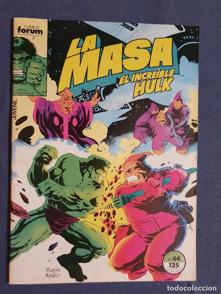 LA MASA EL INCREIBLE HULK VOL 1 # 44 (FORUM) - 1986 (Tebeos y Comics - Forum - Hulk)