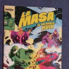 Cómics: LA MASA EL INCREIBLE HULK VOL 1 # 44 (FORUM) - 1986. Lote 230951600