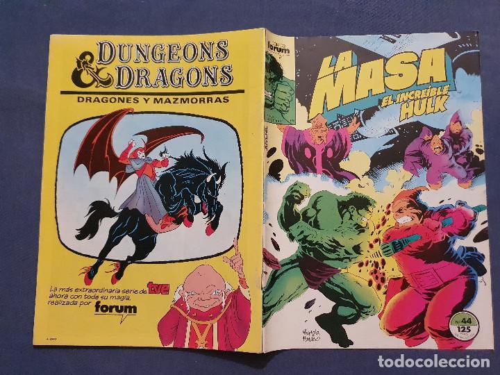Cómics: LA MASA EL INCREIBLE HULK VOL 1 # 44 (FORUM) - 1986 - Foto 2 - 230951600