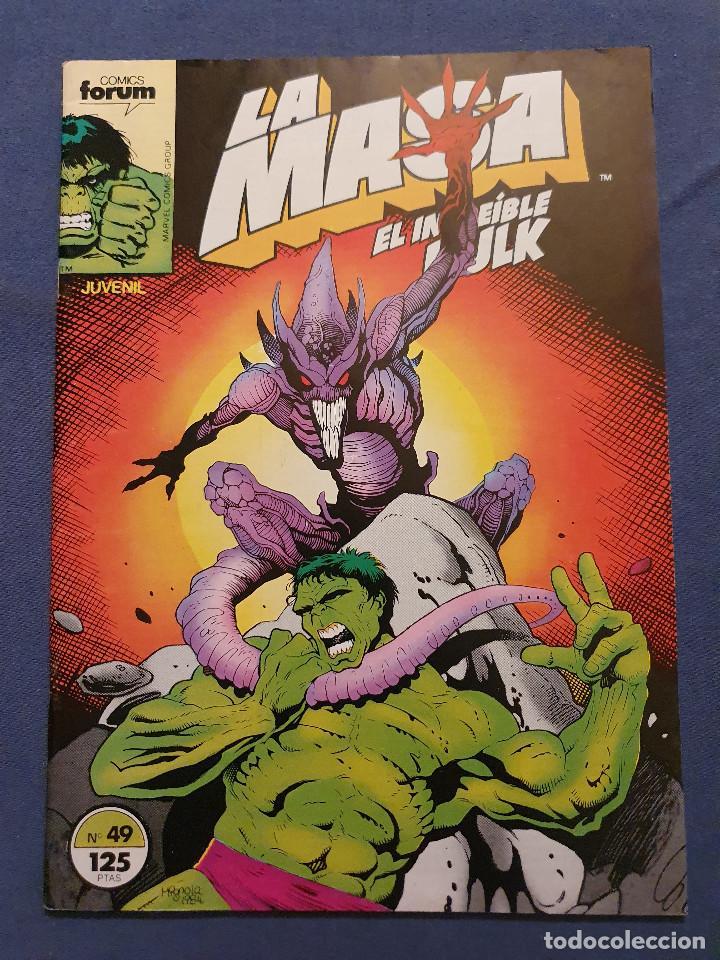 LA MASA EL INCREIBLE HULK VOL 1 # 49 (FORUM) - 1986 (Tebeos y Comics - Forum - Hulk)