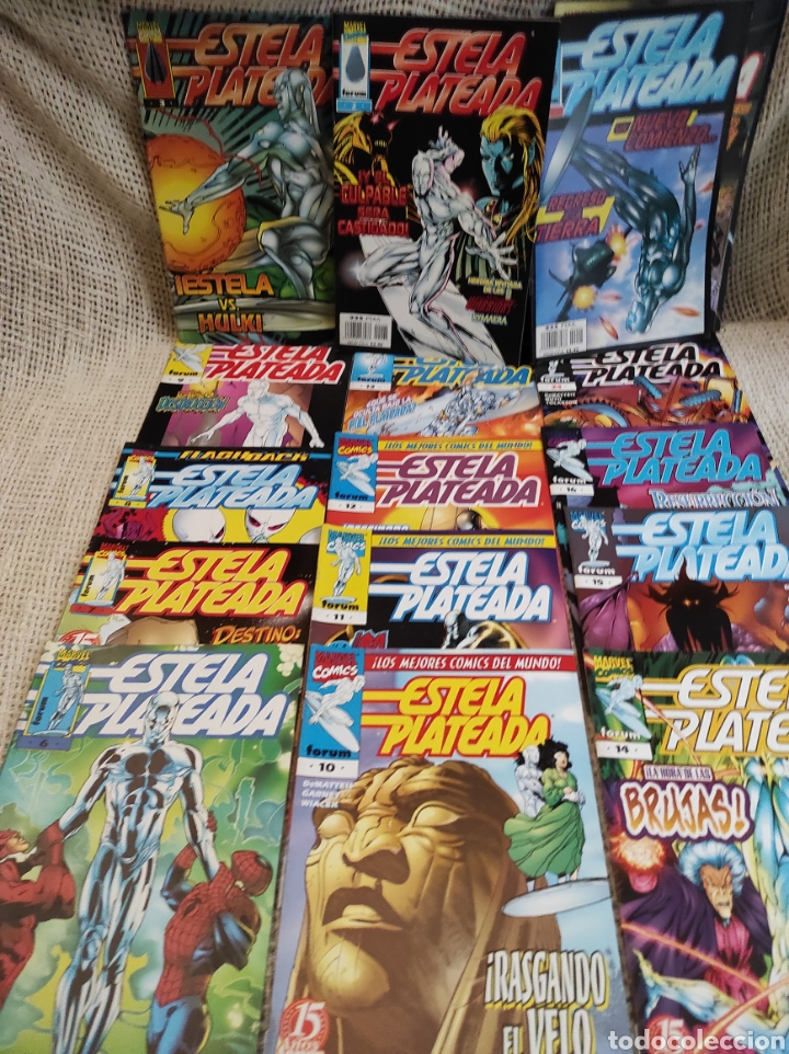 ESTELA PLATEADA VOL 3 - LOTE DE 17 EJEMPLARES -ED. FORUM (Tebeos y Comics - Forum - Silver Surfer)