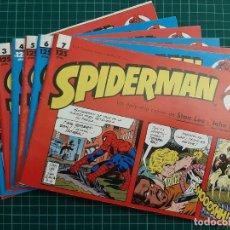 Cómics: SPIDERMAN: LAS DAILY-STRIP, 1, 2, 3, 4, 5, 6, 7 - FORUM. Lote 231223230