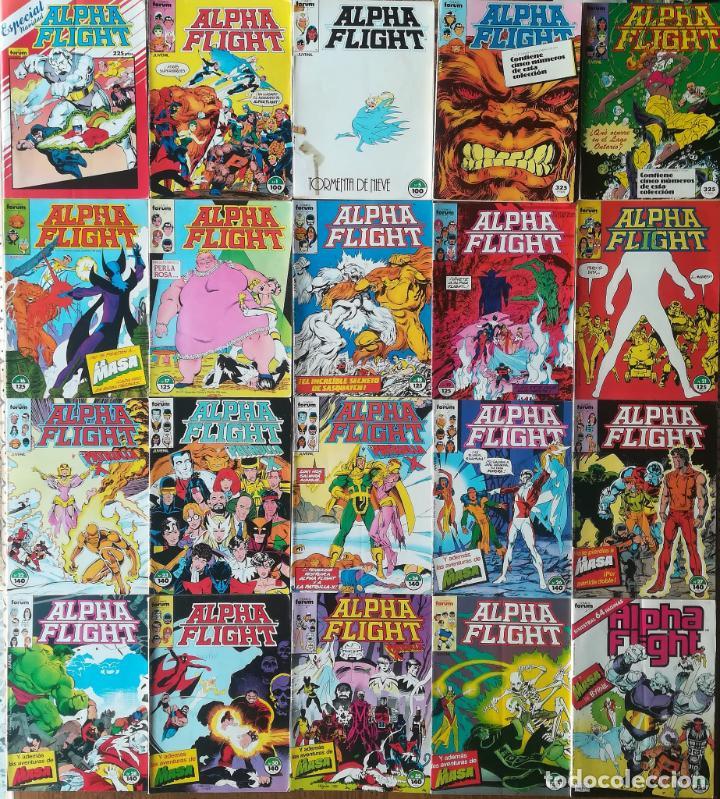 ALPHA FLIGHT 29 GRAPAS 4 RETAPADOS (Tebeos y Comics - Forum - Alpha Flight)