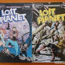 Comics: LOST PLANET - Nº 1 Y 2 - ECLIPSE COMICS - INCLUYEN POSTER CENTRAL - FORUM (HH). Lote 231519885
