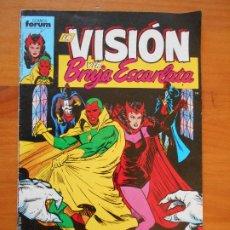 Comics: LA VISION Y LA BRUJA ESCARLATA - Nº 1 - MARVEL - FORUM - LEER DESCRIPCION (HH). Lote 231530445