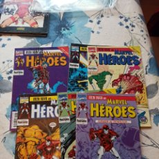 Cómics: MARVEL HÉROES IRON MAN 54 AL 59 STARK WARS. Lote 231641005