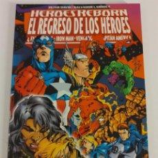 Cómics: HEROES REBORN. EL REGRESO DE LOS HEROES. Lote 231649020