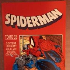Cómics: COMIC SPIDERMAN TOMO 32, Nº236 AL 240. Lote 231864955