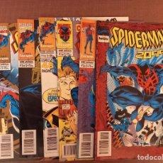Cómics: COMIC SPIDERMAN 2099 Nº 1 AL 6 (SERIE DE 12 NUMEROS) Y Nº1 LA CAIDA DEL MARTILLO. Lote 231866535