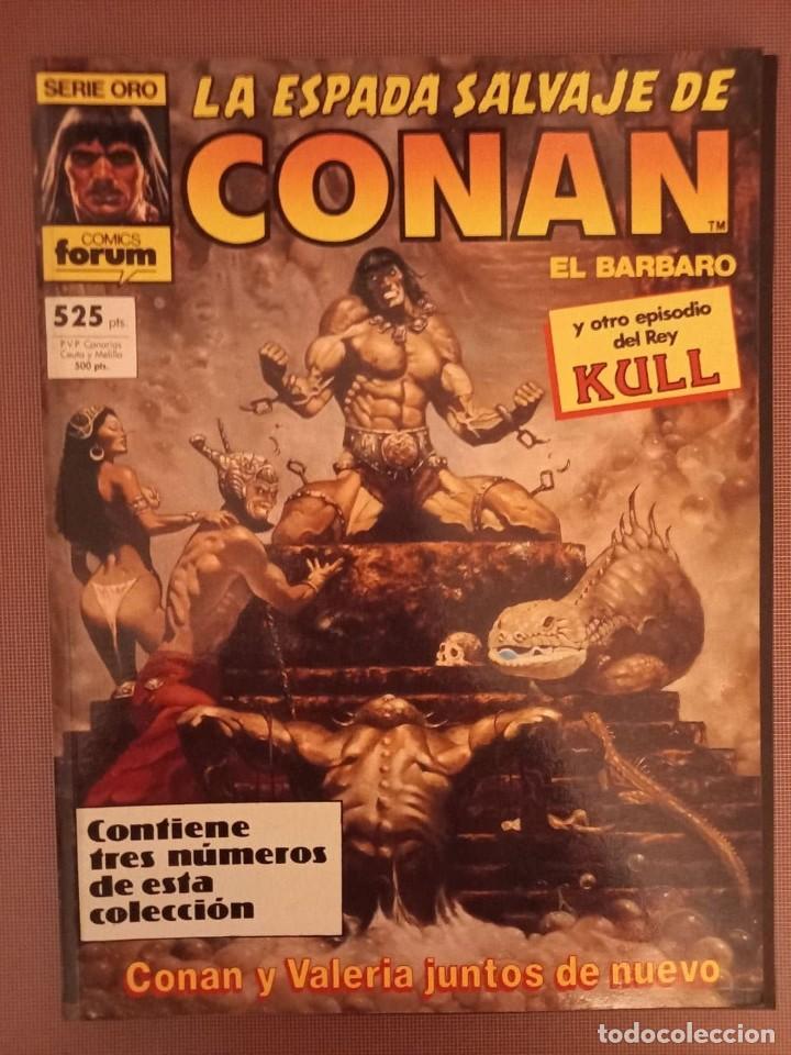 COMIC CONAN SERIE ORO TOMO Nº65, 66 Y 67 (Tebeos y Comics - Forum - Conan)