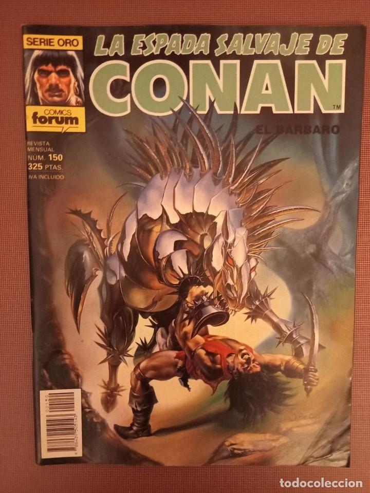 COMIC CONAN SERIE ORO Nº150 (Tebeos y Comics - Forum - Conan)
