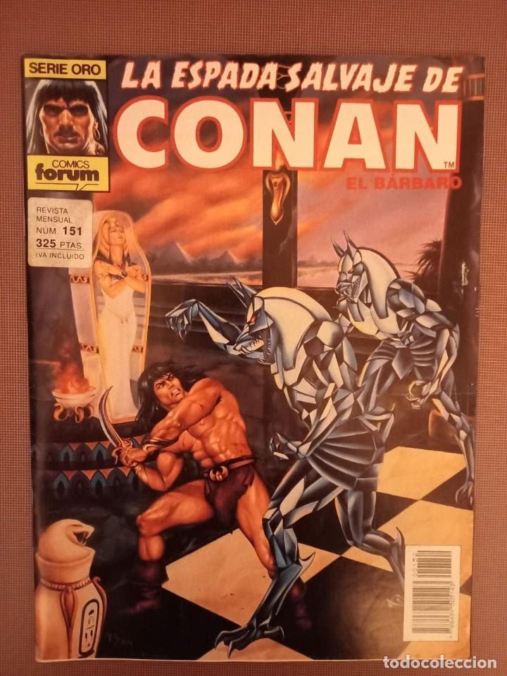 COMIC CONAN SERIE ORO Nº151 (Tebeos y Comics - Forum - Conan)