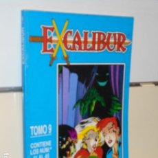 Comics : RETAPADO EXCALIBUR TOMO 9 CONTIENE LOS Nº 41-42-43-44 Y 45 DE LA COLECCION - FORUM OCASION. Lote 231899435