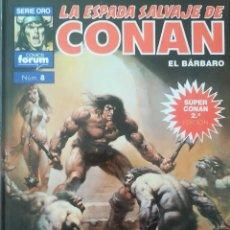 Comics : LA ESPADA SALVAJE DE CONAN 8 LA CIUDAD EN EL CENTRO DEL TIEMPO. Lote 231968295