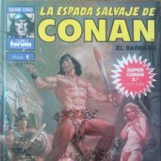 Comics : LA ESPADA SALVAJE DE CONAN 1 CONAN EL LIBERTADOR. Lote 231968625
