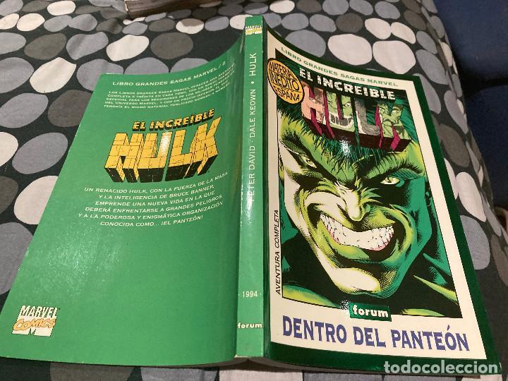 LIBRO GRANDES SAGAS MARVEL-EL INCREIBLE HULK 1994 -DENTRO DEL PANTEÓN (Tebeos y Comics - Forum - Hulk)