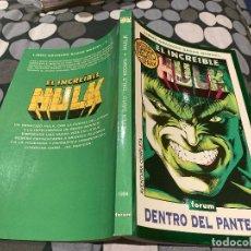 Cómics: LIBRO GRANDES SAGAS MARVEL-EL INCREIBLE HULK 1994 -DENTRO DEL PANTEÓN. Lote 232129620