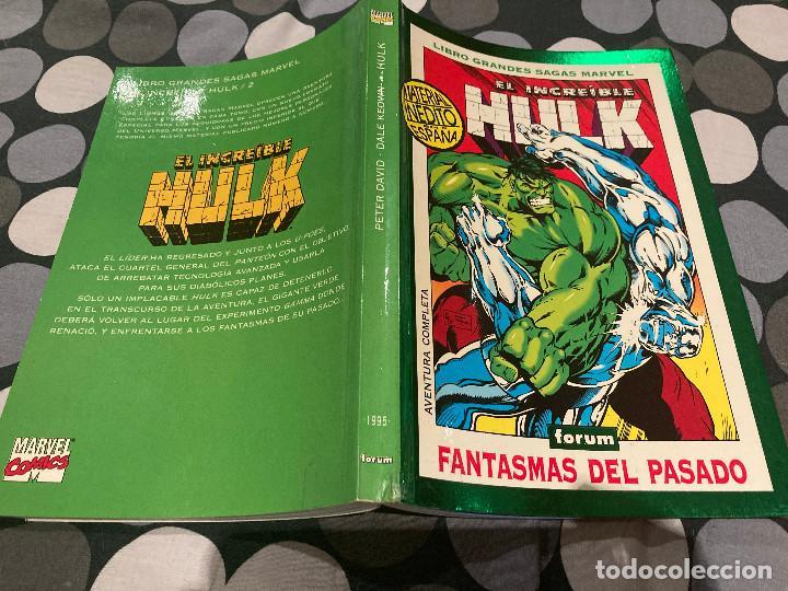 LIBRO GRANDES SAGAS MARVEL-EL INCREIBLE HULK 1995 - FANTASMAS DEL PASADO (Tebeos y Comics - Forum - Hulk)